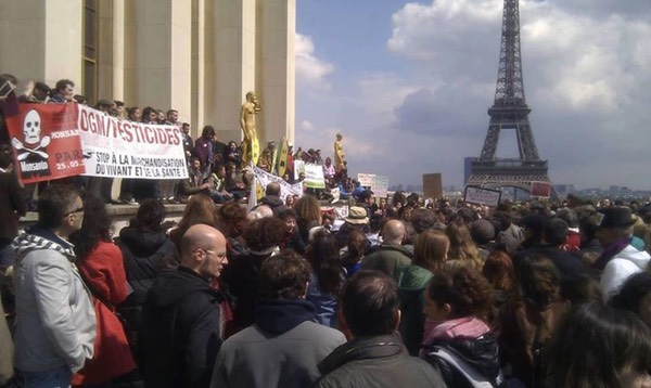 Occupy Monsanto Paris France