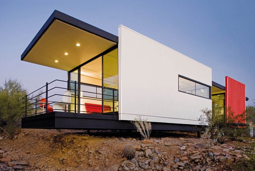 Beautiful contemporary tiny house for Ecological home
