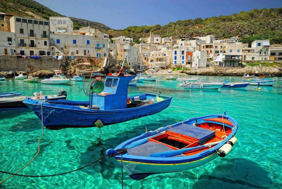 Italian Islands - Levanzo, Sicily