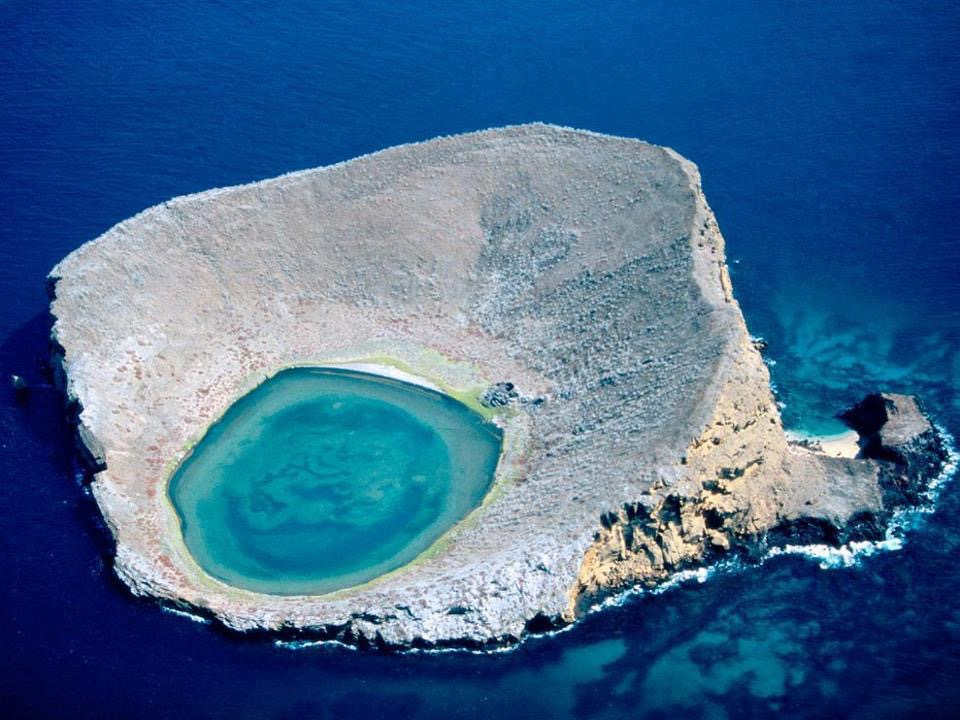 The Blue Galápagos Lagoon, Ecuador by Bobby Haas